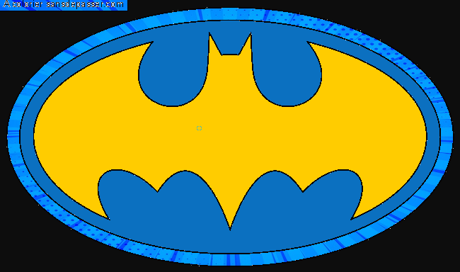 Coloriage Logo Batman