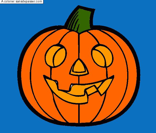 Coloriage Fantôme d'Halloween - Sans Dépasser