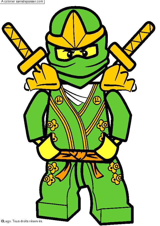 Coloriage zane ninjago sans d passer - Coloriages ninjago ...
