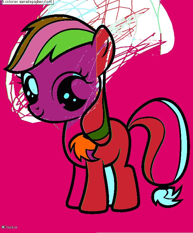 Dessin Colorie My Little Pony Par Un Invite Sans Depasser